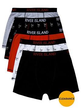 river-island-boys-skull-trunks-5-pack