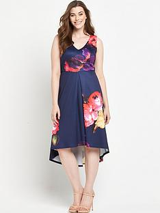 ax-paris-curve-hi-lo-floral-dress