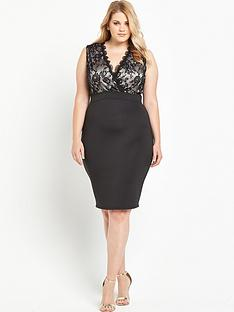ax-paris-curve-lace-bodycon-dress