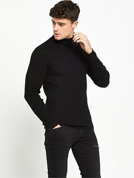 river-island-roll-neck-jumper