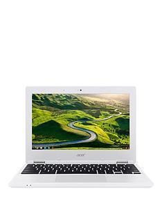 acer-chromebook-11-intelregnbspceleronregnbspprocessor-2gbnbspram-16gbnbspemmc-ssd-storage-116-inchnbspchromebooknbsp--white
