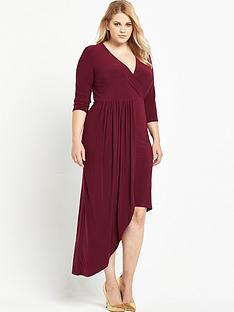 so-fabulous-asymmetric-wrap-front-dress-red
