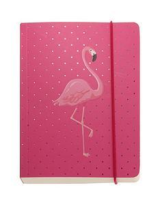 go-stationery-flamingo-a6-chunky-notebook