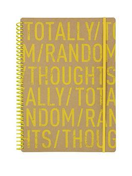 go-stationery-kraft-typo-a4-notebook