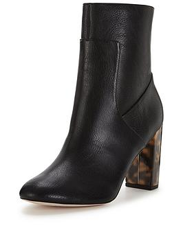 miss-selfridge-contrast-heel-sock-boot