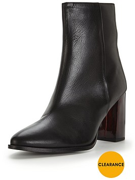 miss-selfridge-miss-selfridge-point-ombre-heel-leather-boot