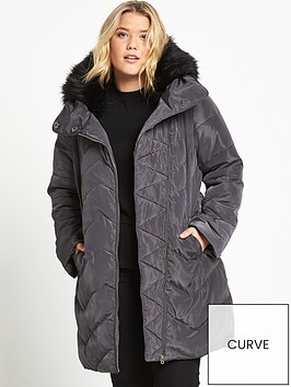 v-by-very-curve-longline-padded-jacket-dark-grey