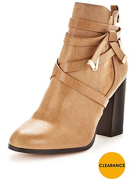miss-selfridge-wrap-strap-ankle-bootnbsp