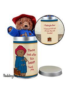 paddington-bear-in-personalised-tin