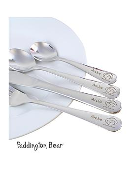 paddington-bear-personalised-cutlery-set