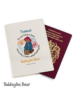 paddington-bear-personalised-passport-cover