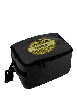 personalised-camo-lunch-bag