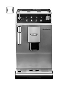 delonghi-autentica-silver-bean-to-cup-coffee-machine