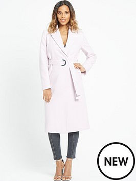 rochelle-humes-large-eyelet-detail-coat