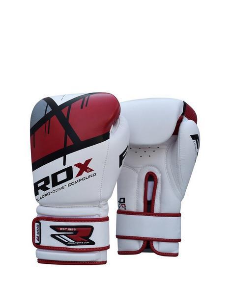 rdx-maya-hide-leather-gloves-ndash-redwhite