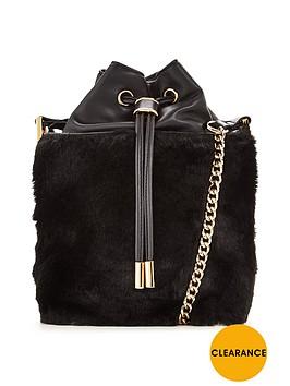 v-by-very-fur-trim-duffle-bag