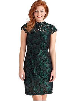 joe-browns-elegant-lace-dress-green