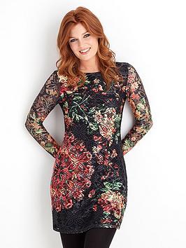 joe-browns-bright-lace-floral-dress