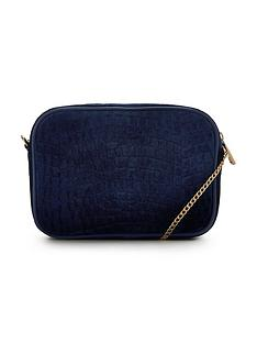 v-by-very-velvet-embossed-shoulder-chain-clutch