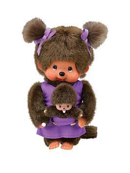 monchhichi-mother-care-purple-20cm