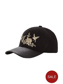 v-by-very-embroidered-detail-cap