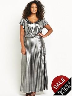 so-fabulous-pleated-skirt-metalic-maxi