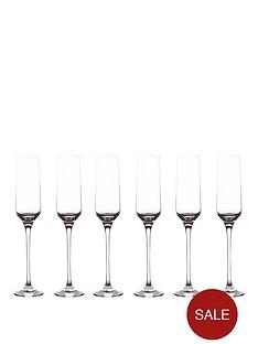 berghoff-hotel-line-set-of-6-champagne-flutes