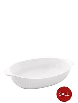 berghoff-hotel-line-large-glazed-porcelain-oval-baking-dish