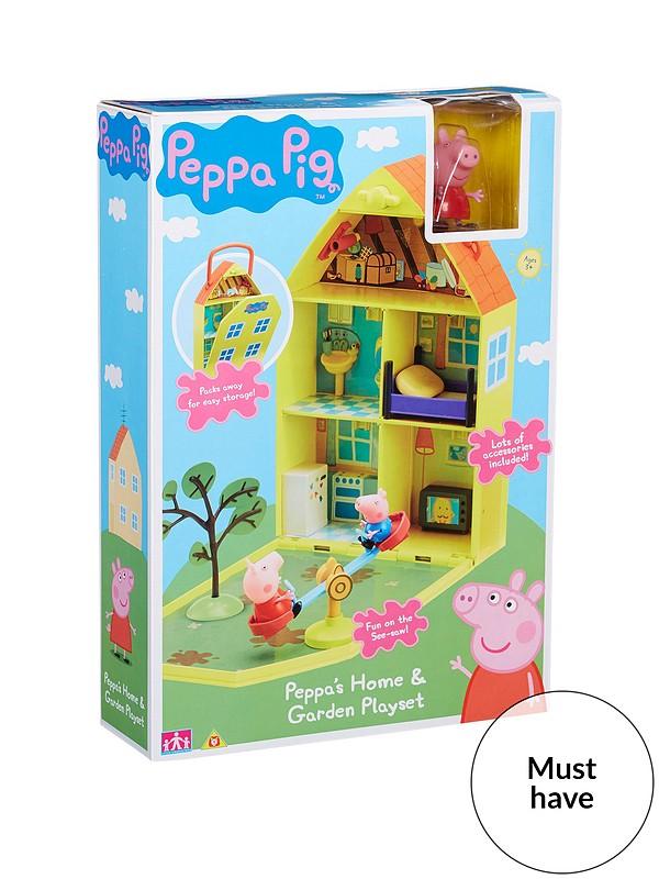 Peppa Pig Peppa S House Garden Playset Littlewoodsireland Ie