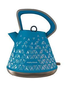 morphy-richards-prism-pyramid-kettle-blue