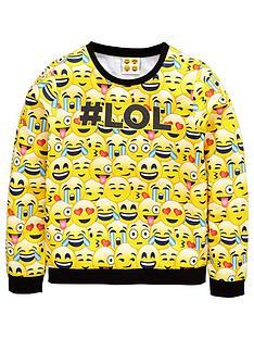 emoji-girls-lol-sweat-top