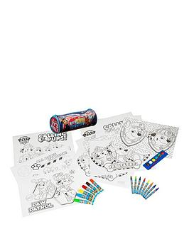 paw-patrol-colouring-set