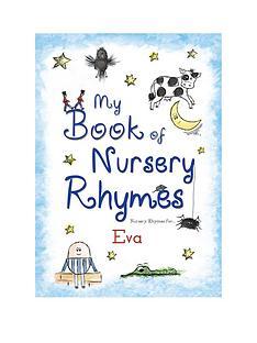 personalised-my-book-of-nursery-rhymes
