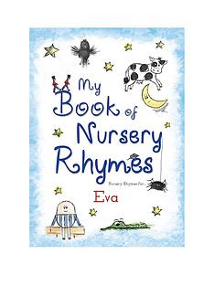 personalised-my-book-of-nursery-rhymes-hardback
