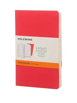 moleskine-moleskine-volant-ruled-journal-ruled-pocket-geranium-red