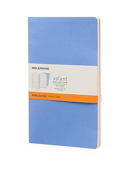 moleskine-moleskine-volant-ruled-large-a5-journal-twin-pack-blue
