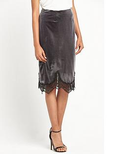 miss-selfridge-velvet-lace-trim-slip-skirt-grey