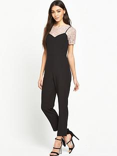 miss-selfridge-lace-tee-2-for-jumpsuit