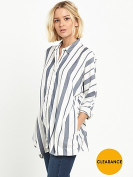 river-island-oversized-stripe-shirt