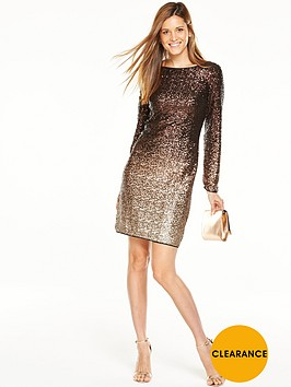 coast-demi-ombre-sequin-dress-bronze