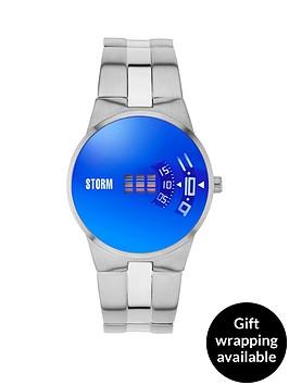 storm-new-remi-lazer-blue-dial-stainless-steel-bracelet-mens-watch