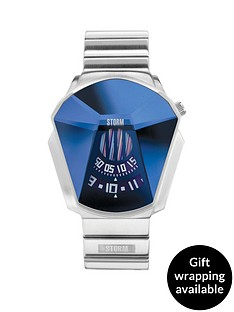 storm-darth-lazer-blue-dial-stainless-steel-mens-watch