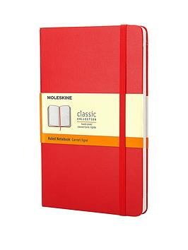moleskine-moleskine-classic-a5-hard-cover-ruled-notebook-red