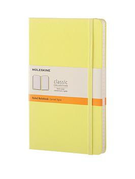 moleskine-moleskine-classic-a5-hard-cover-ruled-notebook--citron-yellow