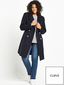 v-by-very-curve-military-coat-navy