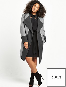 v-by-very-curve-colour-block-fashion-coat