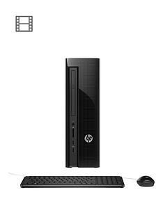 hp-slimline-411-a020na-intel-pentium-4gb-ram-1tb-hard-drive-desktop-base-unit-black