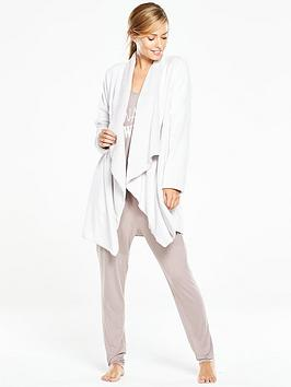 v-by-very-luxe-lounge-waterfall-fleece-grey
