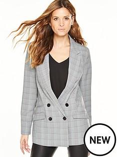 v-by-very-check-blazer