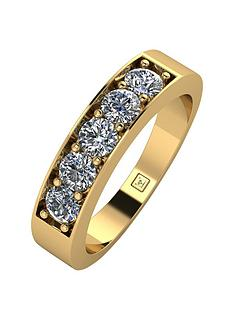 moissanite-lady-lynsey-9ct-gold-1ct-total-5-stone-moissanite-eternity-ring